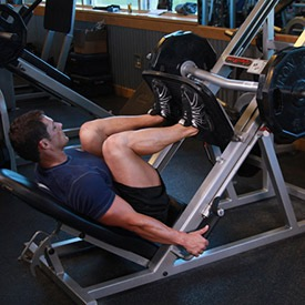 how to do leg press for quadricep muscles