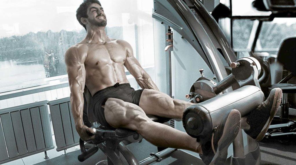 big quad muscles