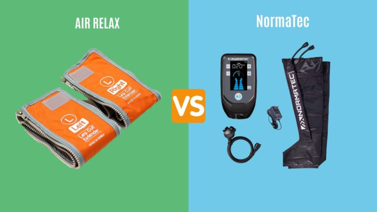 Air Relax Vs. NormaTec – The Best Air Pressure Massage Systems