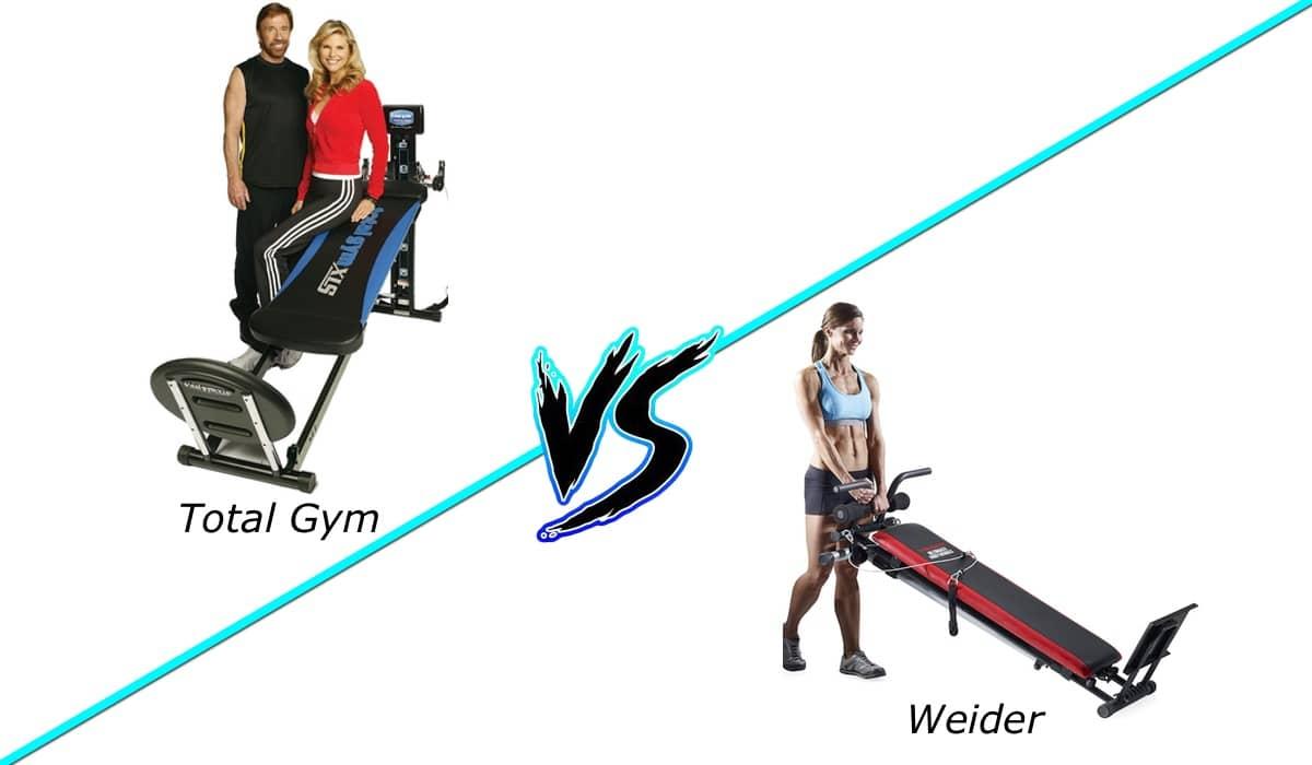 Total Gym Vs Weider