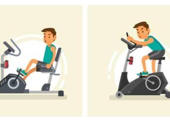 Recumbent Exercise Bike vs Stationary Upright Bike