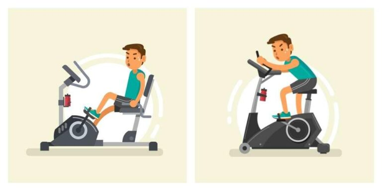 The Perfect Choice Between  Recumbent Exercise Bike vs Stationary Upright Bike