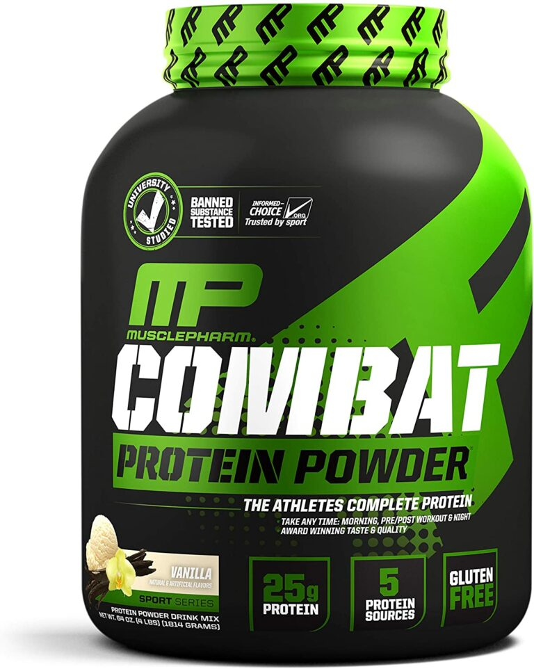 My Honest Review Of Combat Protein Powder