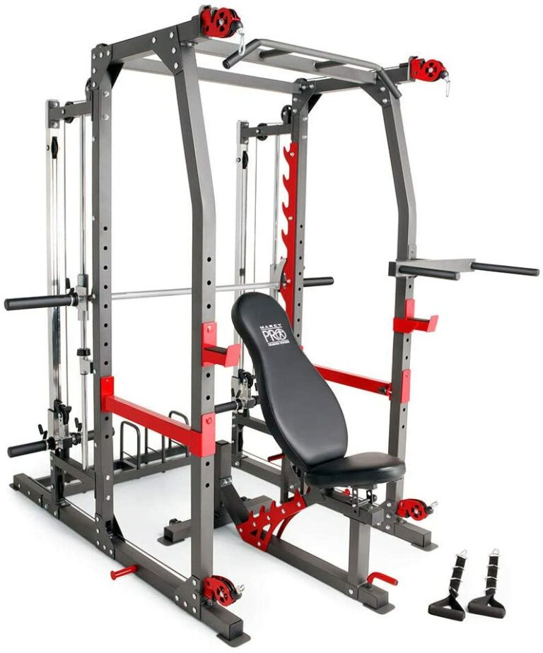 Marcy Pro Smith Machine Weight Bench Home Gym SM-4903 Review