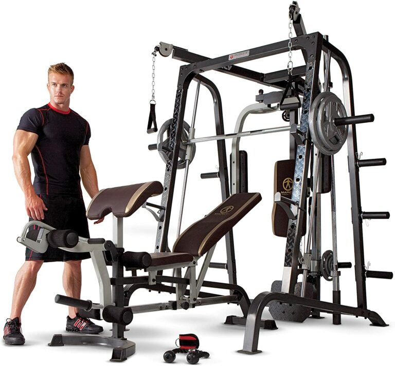 Marcy Smith Cage Workout Machine Review- A True Full-Spectrum Gym For Your Home!