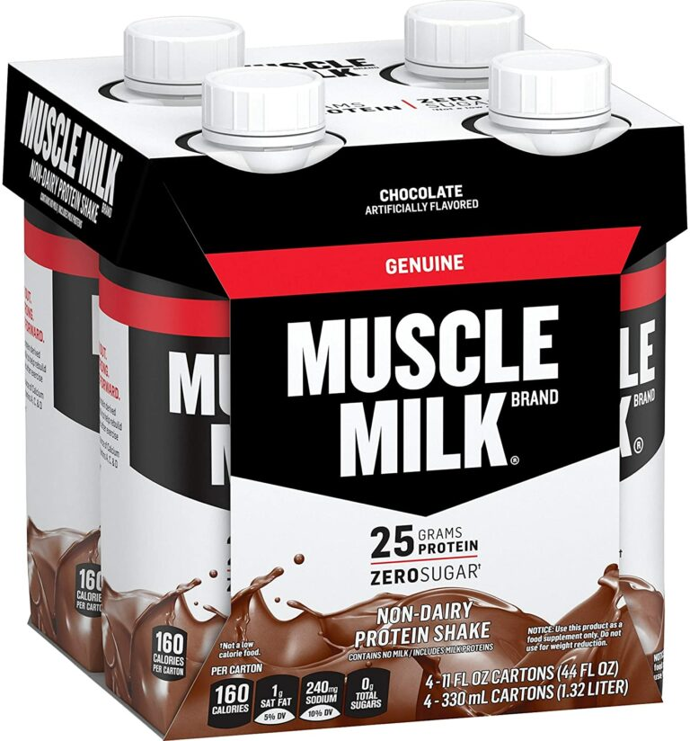 Muscle Milk Non-dairy Protein Shake Review – Are They Worth The Hype?