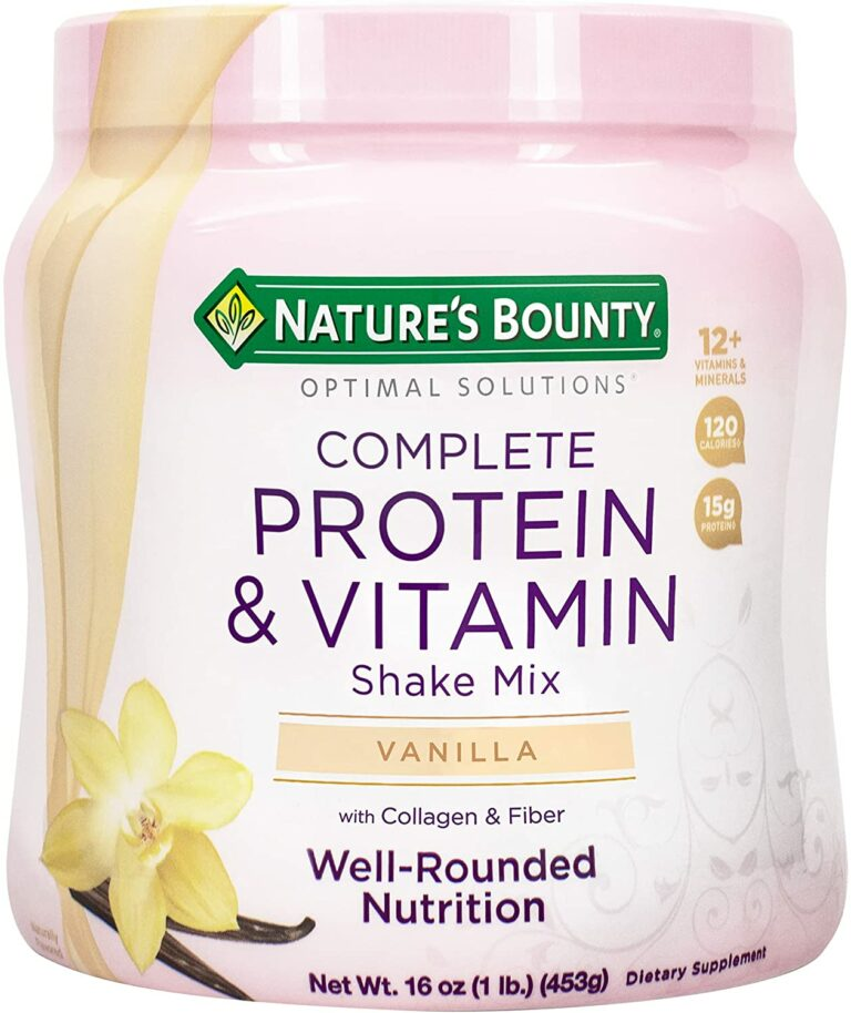Nature's Bounty Protein Powder Review – What I Liked
