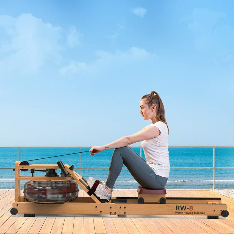 Snode RW-8 2021 Wood Water Resistance Rowing Machine Review