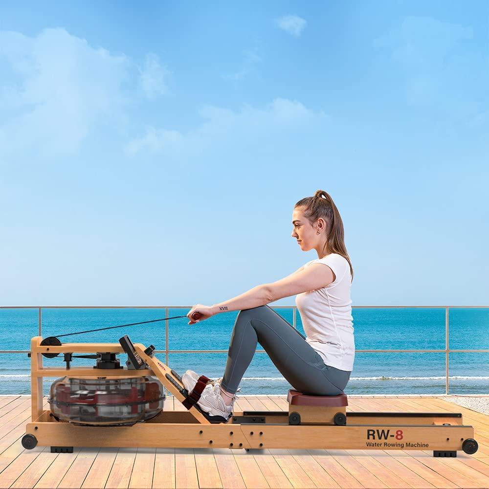 SNODE 2021 Wood Water Rowing Machine