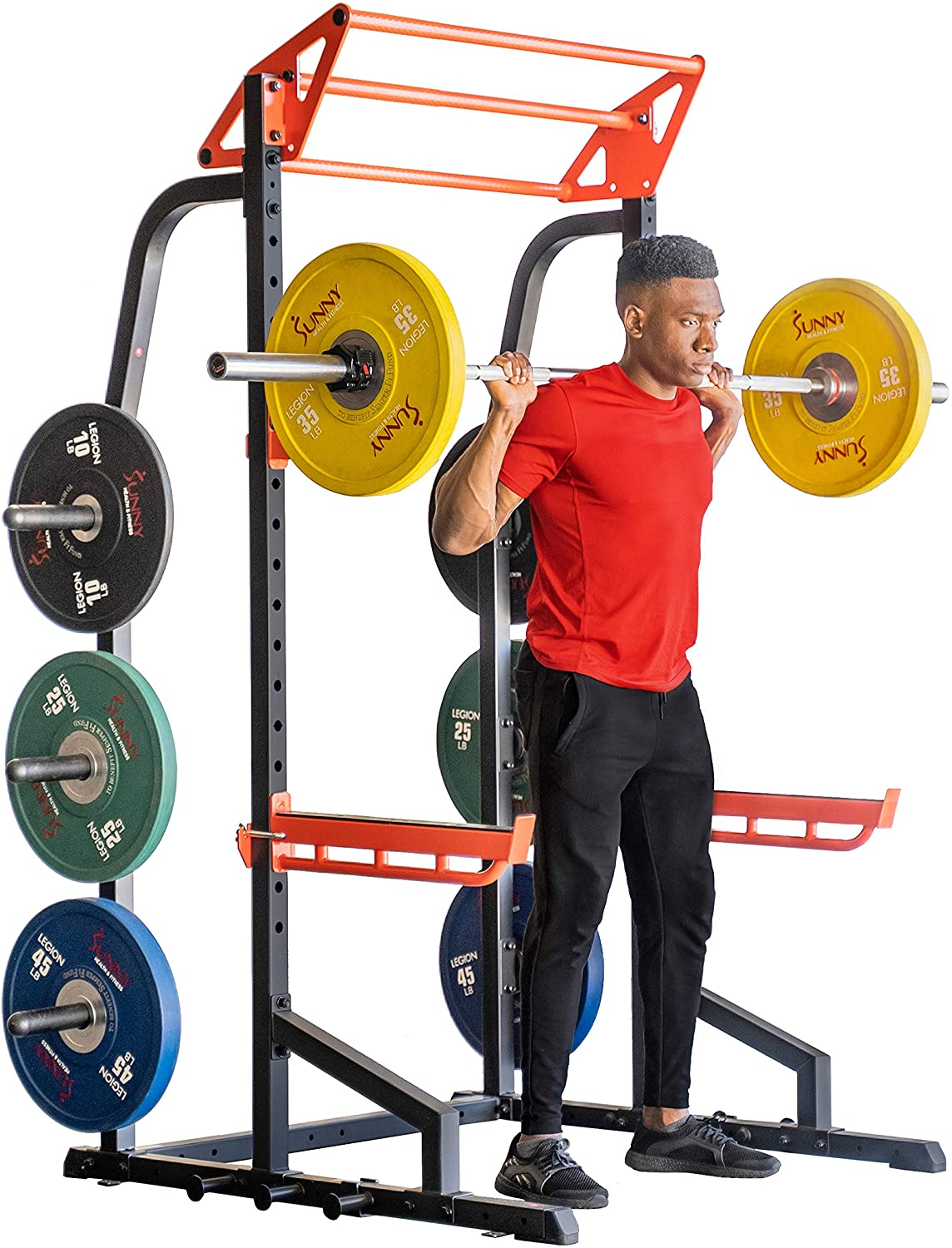 Sunny Health & Fitness Power Zone Half Rack Power Cage Review