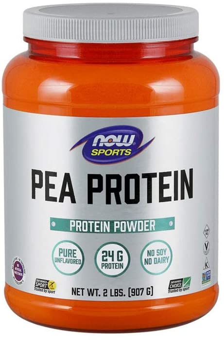 NOW Sports Pea Protein Powder Review